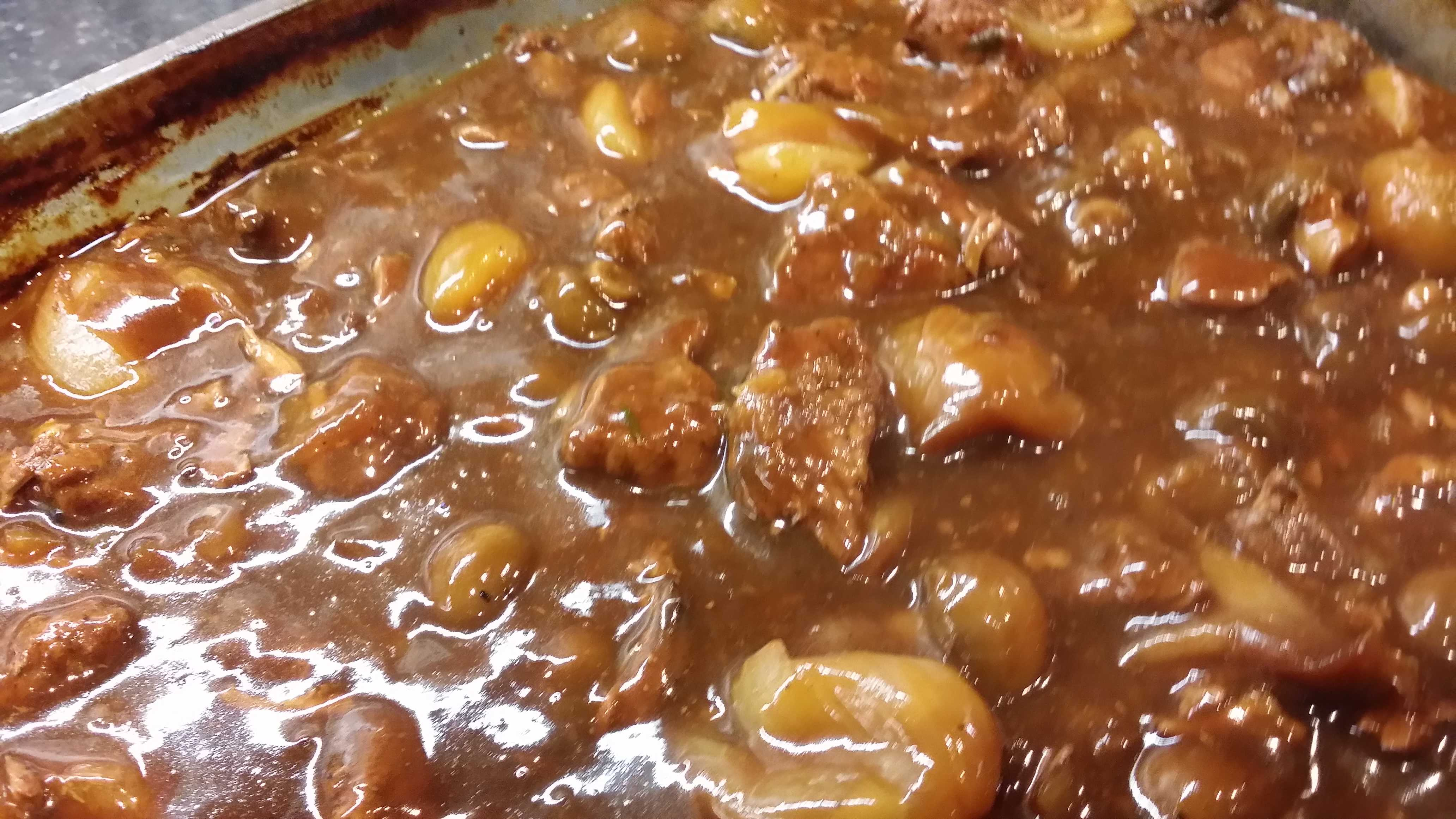 Rich Beef Stew In Red Wine